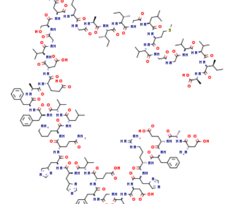 Beta-AmyloidPeptide(1-42),CAS 107761-42-2