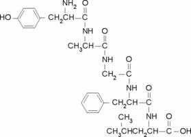 Tyrosylalanylglycylphenylalanylleucine CAS 64963-01-5