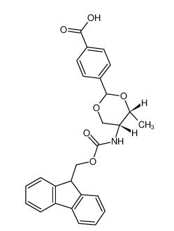 Fmoc-L-threoninol p-carboxybenzacetal CAS 205109-16-6