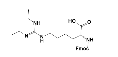 Fmoc-D-Homoarg(Et)2-OH(·HCl) CAS AANA-0123