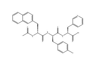 N-Acetyl-3-(2-naphthyl)-D-alanyl-4-chloro-D-phenylalanyl-3-(3-pyridyl)-D-alanyl CAS PNA-2730