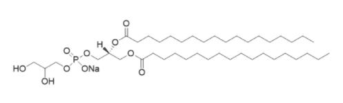 Octadecanoic acid 1-[[[(2,3-dihydroxypropoxy)hydroxyphosphinyl]oxy]methyl]-1,2-ethanediyl ester sodium salt CAS 124011-52-5