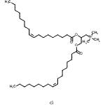 N,N,N-Trimethyl-2,3-Bis[(9Z)-9-Octadecenoyloxy]-1-Propanaminium Chloride CAS 132172-61-3
