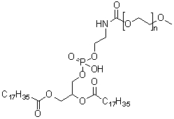 alpha-[6-Hydroxy-6-oxido-1,12-dioxo-9-[(1-oxooctadecyl)oxy]-5,7,11-trioxa-2-aza-6-phosphanonacos-1-yl]-omega-methoxy-poly(oxy-1,2-ethanediyl) CAS 147867-65-0