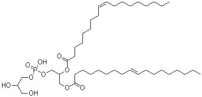 (Z)-Octadec-9-enoic acid [1-[(glyceryloxy-hydroxy-phosphoryl)oxymethyl]-2-[(E)-octadec-9-enoyl]oxy-ethyl] ester CAS 62700-69-0